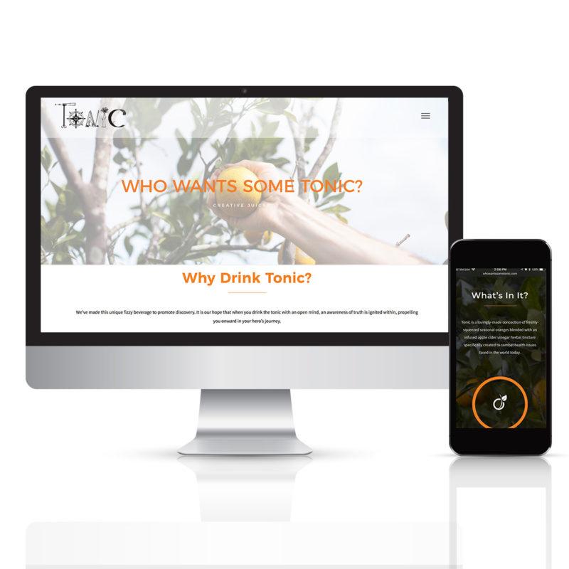 whowantssometonic.com web design